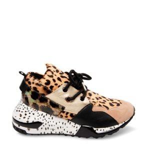 Cliff Animal wedge sneaker
